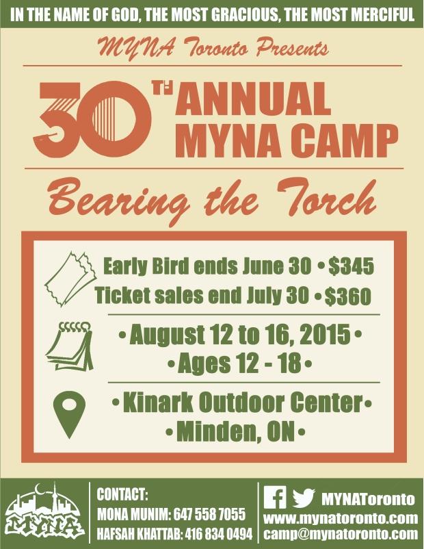 MYNA Camp 2015!!