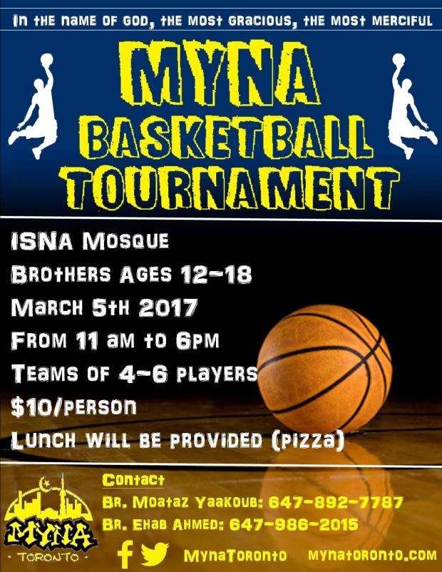 Brother's Basketball Tournament